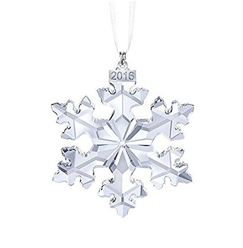 Swarovski X-Mas Annual Edition 2016 Crystal Star Ornament – 25th Anniversary,The product with original Package box