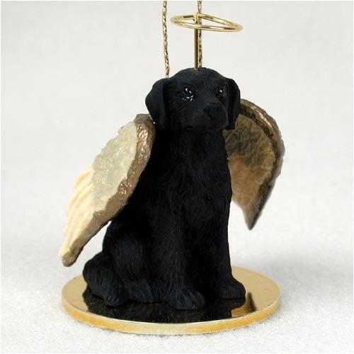 Flat Coated Retriever Angel Dog Ornament