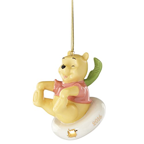 Lenox 2016 Sledding Fun with Pooh Ornament