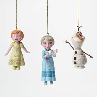 Disney Traditions Christmas Ornaments 2015 (Frozen)