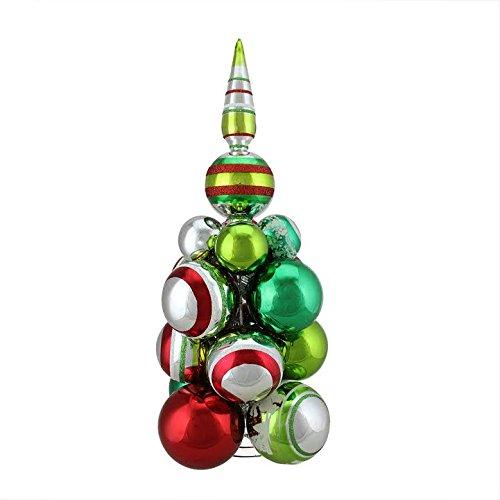 14.5″ Christopher Radko Shiny Brite Holiday Splendor Glass Christmas Ball Ornament Cluster Tree