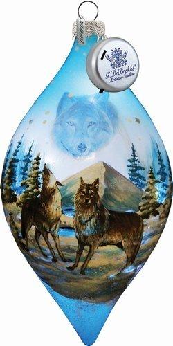Winter Wolves Led Ornament