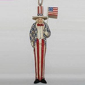 Jim Shore Uncle Sam Ornament