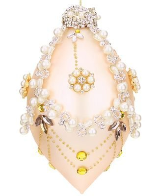 Mark Roberts Jeweled Finial Queens Pearls ornament