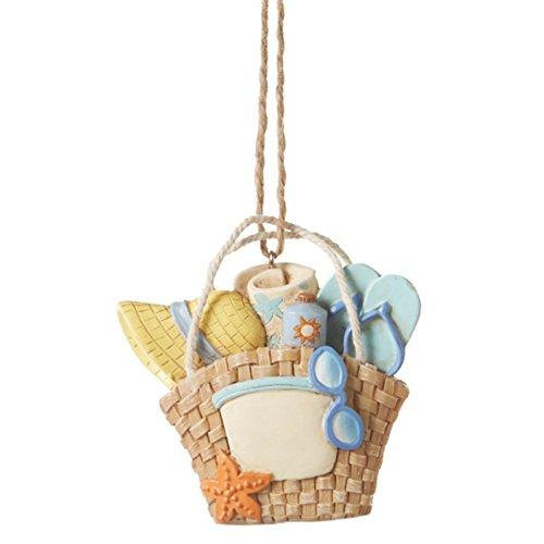 Beach Bag Resin Ornament