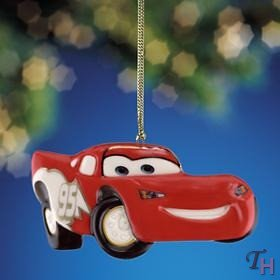 Lenox Rookie Of The Year Lightning McQueen Hanging Ornament