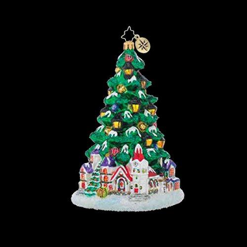 Christopher Radko Tannenbaum Glow Limited Edition Christmas Tree Ornament