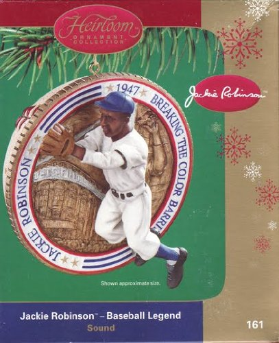 Jackie Robinson Ornament
