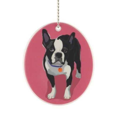 Department 56 Go Dog Boston Terrier Ornament, 3.5-Inch