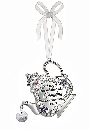 A Cup of Tea and Time With Grandma Tea Kettle Ornament – By Ganz
