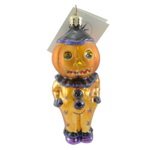 Christopher Radko JEST JACK Blown Glass Ornament Halloween Clown