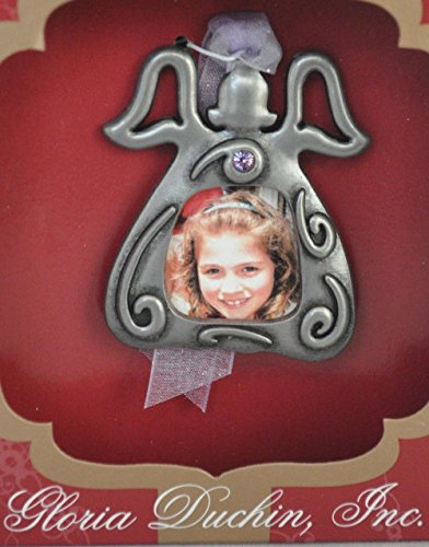 Angel Photo Holder Gloria Duchin Ornament With Swarovski Crystals