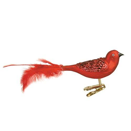 Old World Christmas Brilliant Songbird Glass Blown Ornament