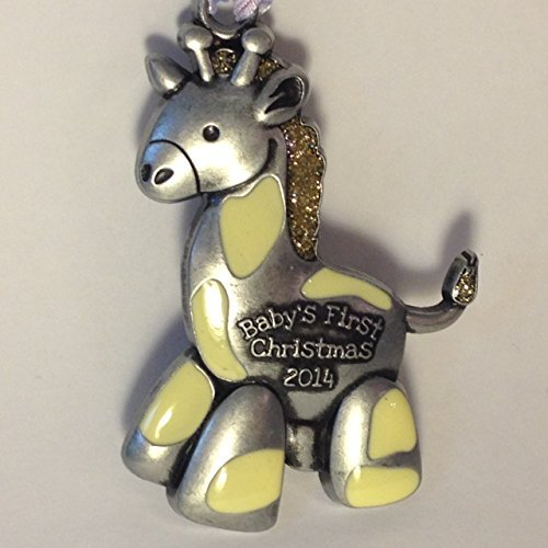 2014 Babys First Christmas – Giraffe Collectible Tree Decoration Ornament by Gloria Duchin
