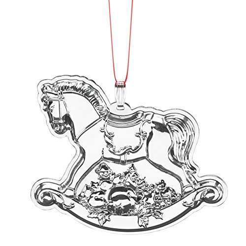 Reed & Barton Francis 1st Rocking Horse Ornament