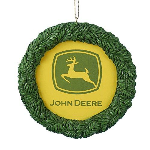 Kurt Adler Resin John Deere Ornament, 3.75-Inch