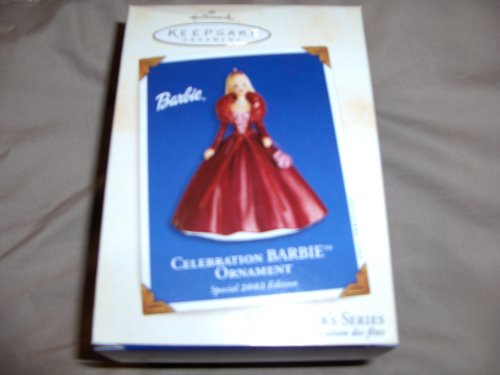 2002 Hallmark Ornament Celebration Barbie Special 2002 Edition