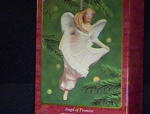 QXI4144 Angel of Promise 2000 Hallmark Keepsake Ornament Porcelain