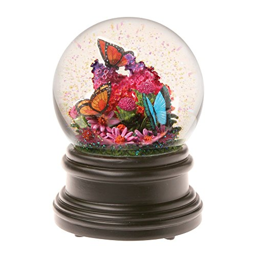 Beautiful Butterflies Musical Waterglobe – Snow Globe