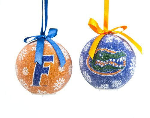 Florida Gators Official NCAA LED Box Set Ornaments by Evergreen Enterprises