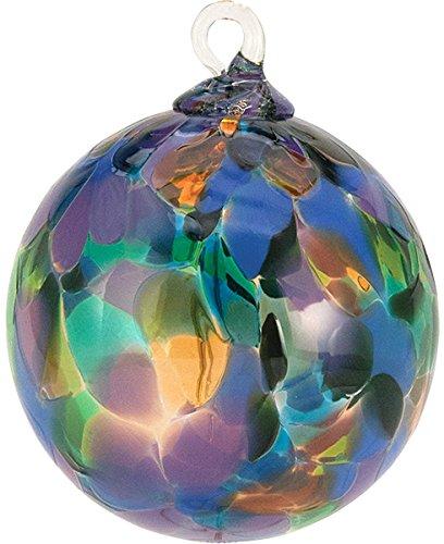 Glass Eye Studio Classic Purple Mystique Orchid Classic Ornament