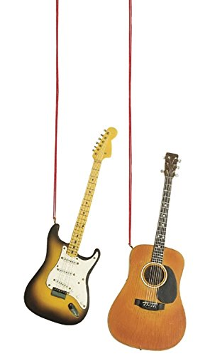 Midwest-CBK Guitar Christmas Ornament (Set of 2)