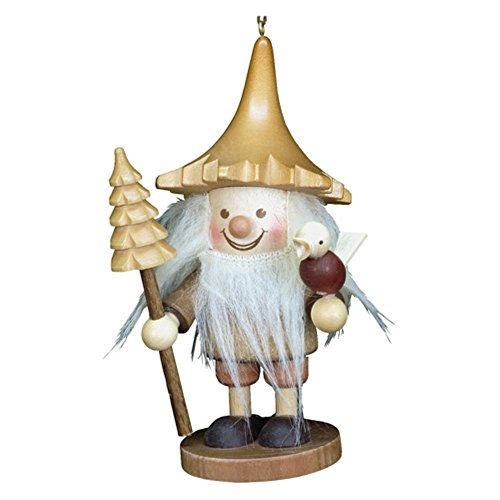 "13-0709 – Christian Ulbricht Ornament – Forest Gnome – 5″""H x 2.5″""W x 2.25″""D"