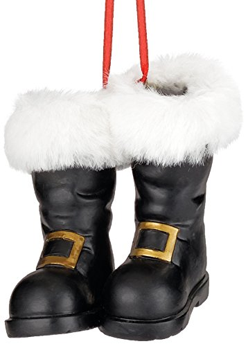 Department 56 Here Comes Santa Claus Boots Ornament