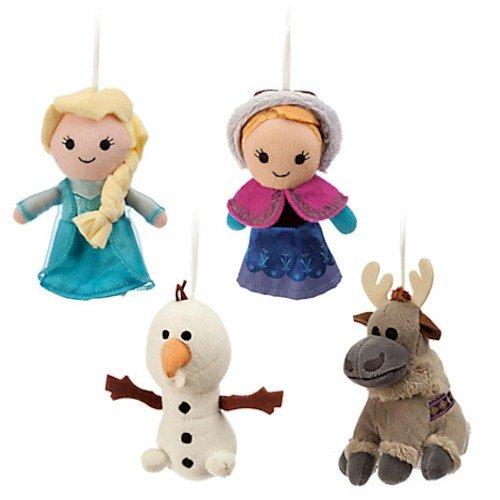 Disney Frozen Plush Ornament Set
