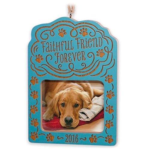 Hallmark Keepsake Ornament 2016 Loss of a pet Faithful Friend Forever