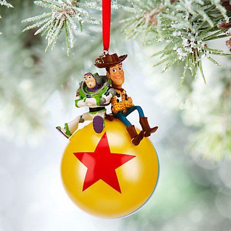 Disney Buzz Lightyear and Woody Sketchbook Ornament – Ridin' High