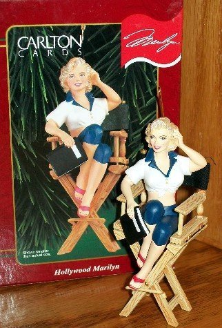 Marilyn Monroe – Hollywood Marilyn 1999 Carlton Cards Christmas Ornament