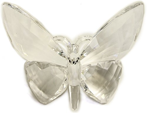 Crystal Expressions Acrylic 4×6 Inch Butterfly Ornament/ Sun-Catcher (Clear)