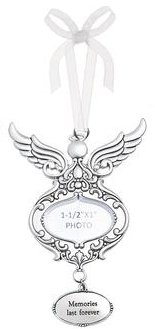 Ganz Watch Over Me Angels Photo Ornaments – Memories Last Forever