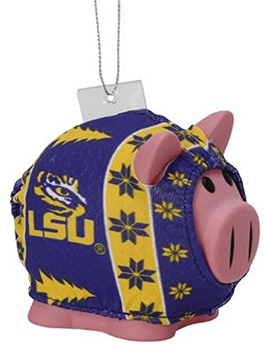 NCAA Lsu Tigers Unisex LSU Sweater Piggy Ornament, No Size