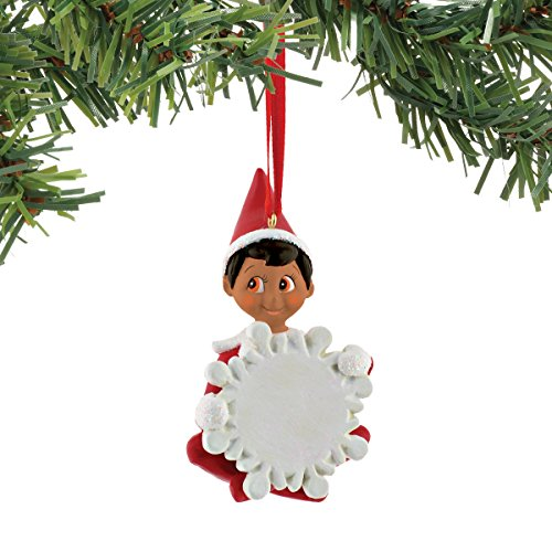 Department 56 Elf on The Shelf Dark Skin Boy Elf Ornament