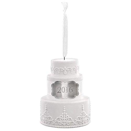 Hallmark Keepsake Ornament 2016 Wedding Cake