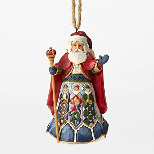 Jim Shore Heartwood Creek, Spanish Santa Ornament
