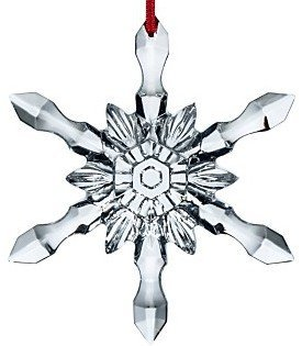Baccarat 2012 Christmas Snowflake Ornament #2613010 by Baccarat