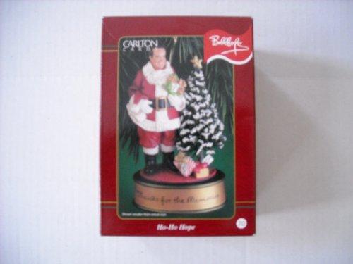 Carlton Bob Hope Ho-Ho Hope Christmas Ornament