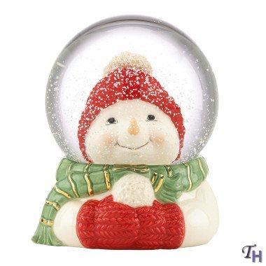 Snowman Snowglobe by Lenox