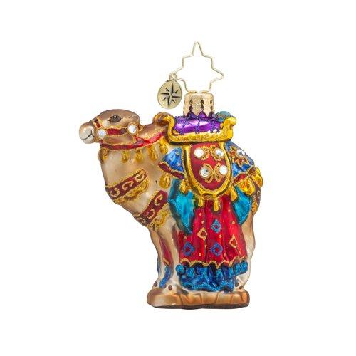 Christopher Radko From the Far East Little Gem Animal Christmas Ornament