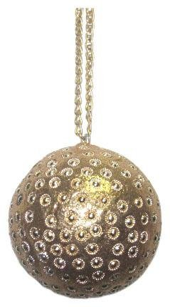 Sage & Co. Studded Ball Ornament, 3-Inch