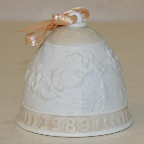 Lladro 15616, Christmas Bell 1989 (Ornament)