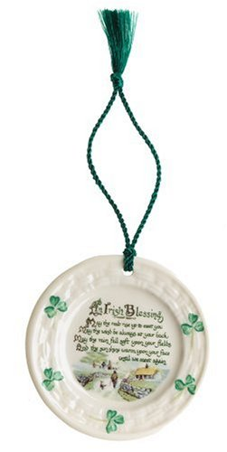 Belleek Irish Blessing, Christmas Ornament