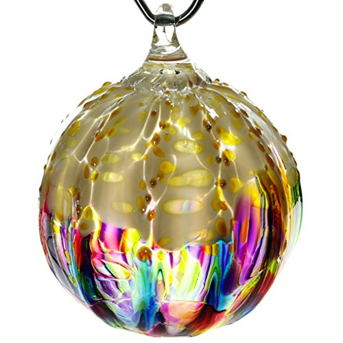 Glass Eye Studio Hand Blown Glass Ornament – Rainbow Sprinkle