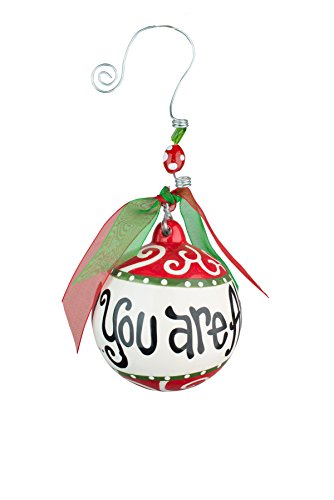 Glory Haus Always In My Heart Ornament, 4.5″