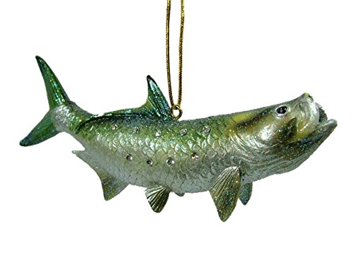 New Game Angler Tarpon Fish Christmas Tree Ornament December Diamonds