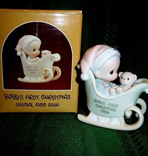 Precious Moments Ornament – Baby's First Christmas – Special 1988 Issue #115282