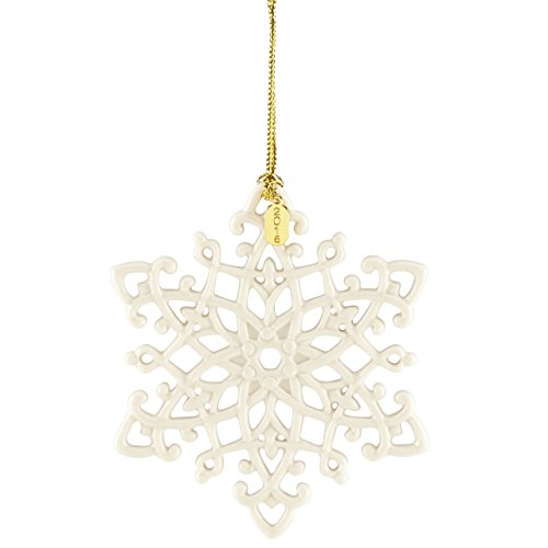 Lenox 2016 Snow Fantasies Snowflake Ornament